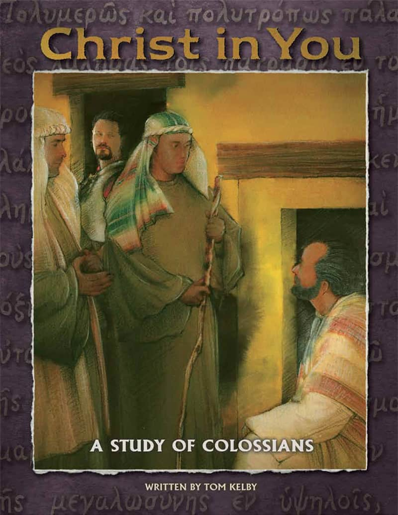 cover of Christ in You Bible study