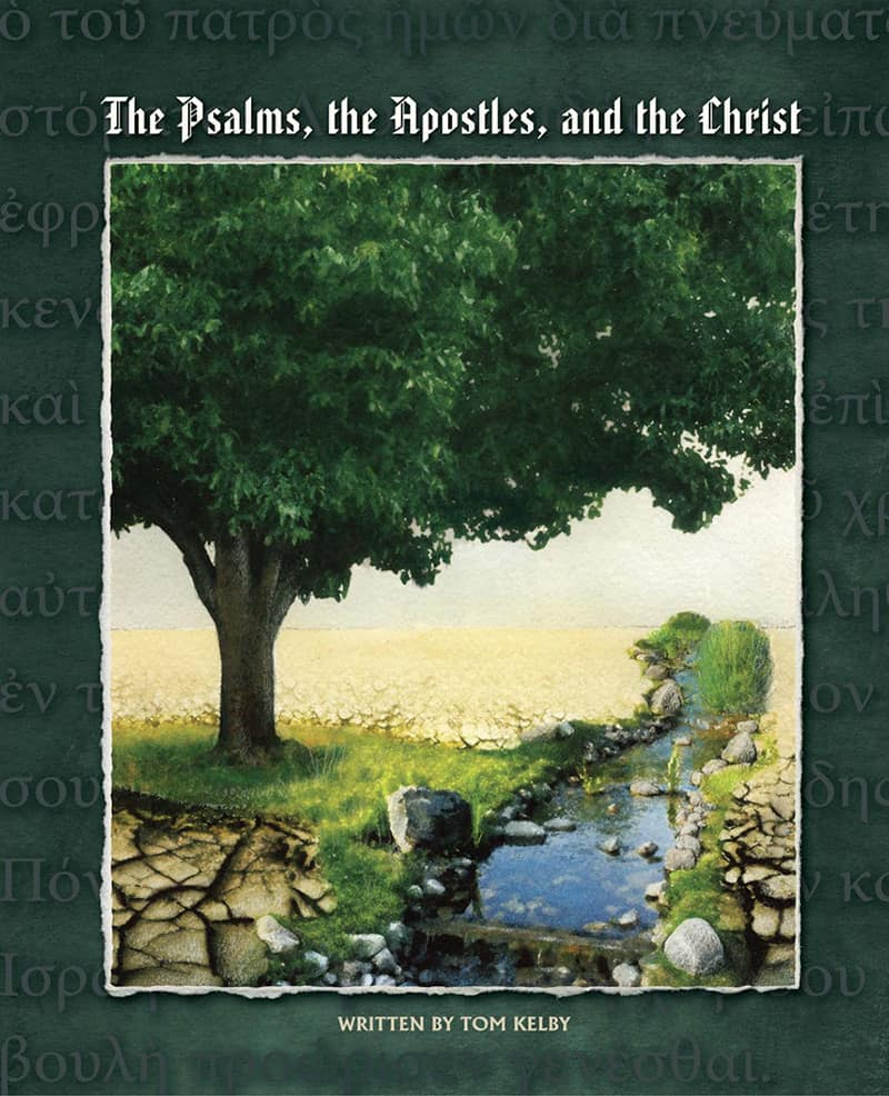 cover of The Psalms, the Apostles and the Christ Bible study